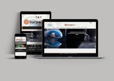 Web corporativa | Lurpelan