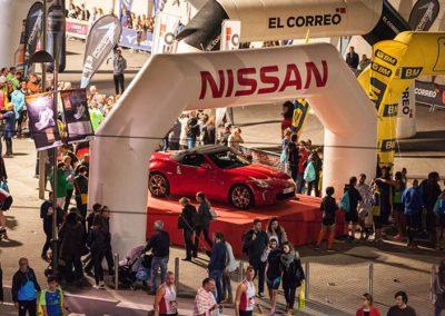 Coche oficial EDP Bilbao Night Marathon | Nissan Lejarza