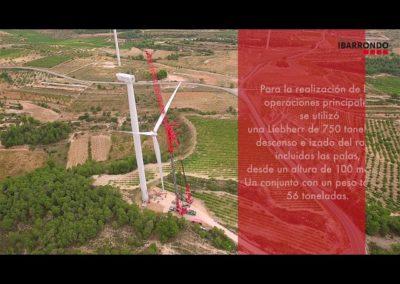 Vídeo Mantenimiento eólico | Grupo Ibarrondo