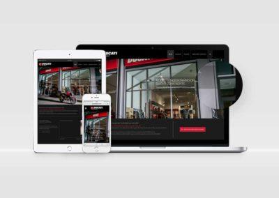 Web corporativa | Ducati Bilbao