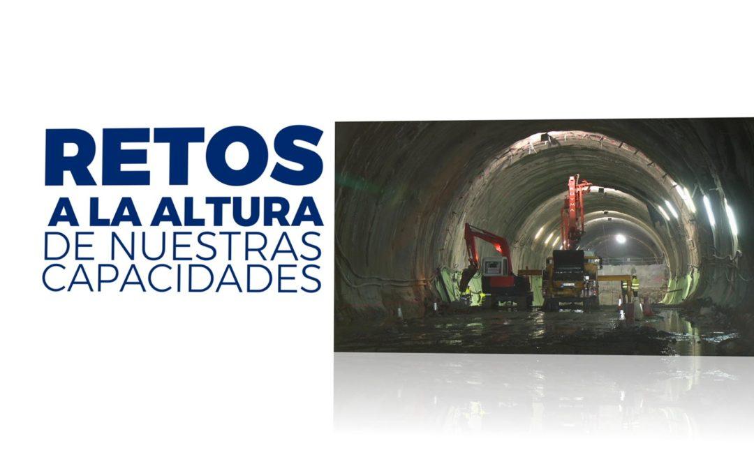 Vídeo Construcción Túnel | U.T.E. Urdinbide