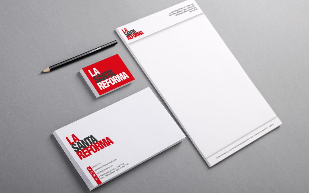 Branding y naming   La Santa Reforma