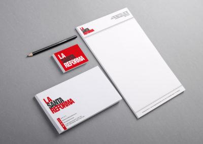 Branding y naming | La Santa Reforma