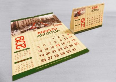 Calendario 2019 | Grúas Ibarrondo