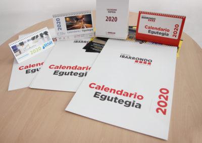 Calendarios 2020 | Varios clientes