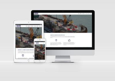 Web Corporativa | Cimentaciones Abando