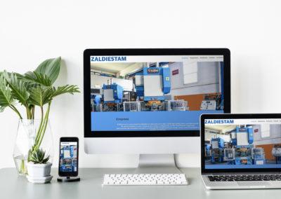 Web Corporativa | Zaldiestam