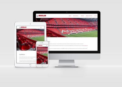 Web Corporativa | Urbelan