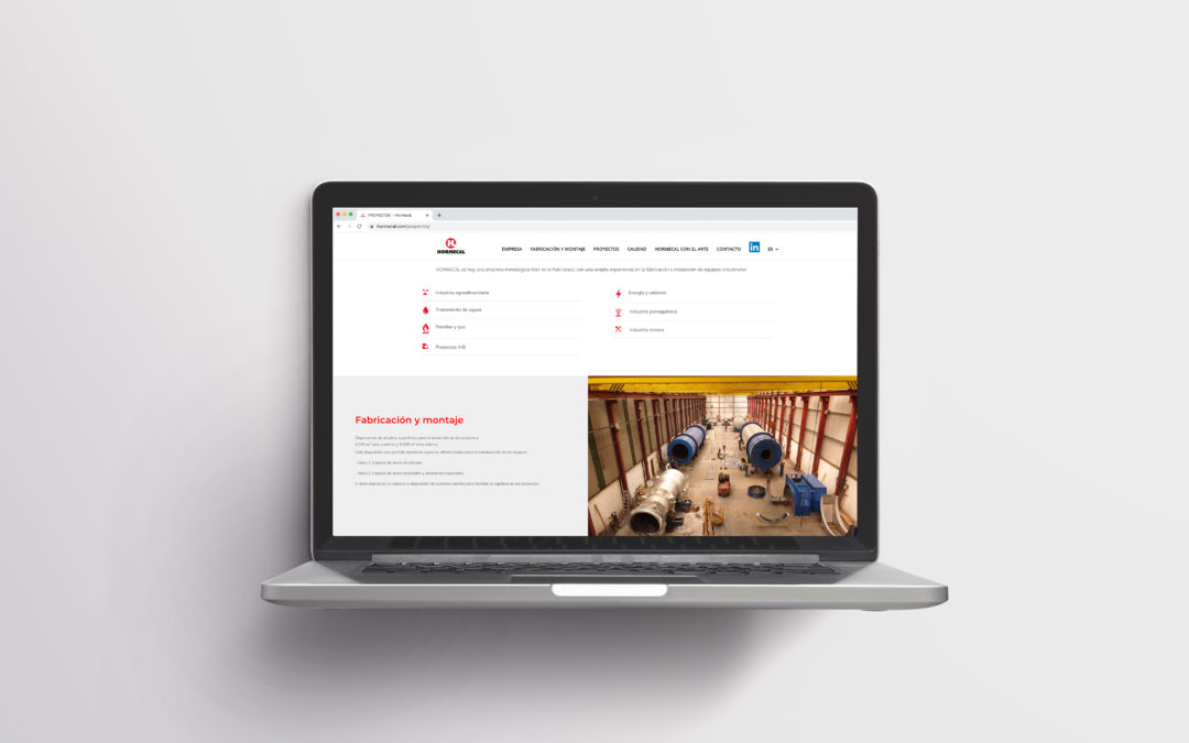Web Corporativa | Hormecal